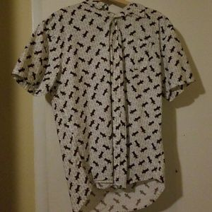 Other - Men's button down shirt with ROBOTS